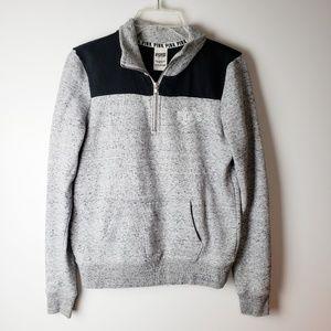 PINK by VS 3/4 zip Sweatshirt Size S